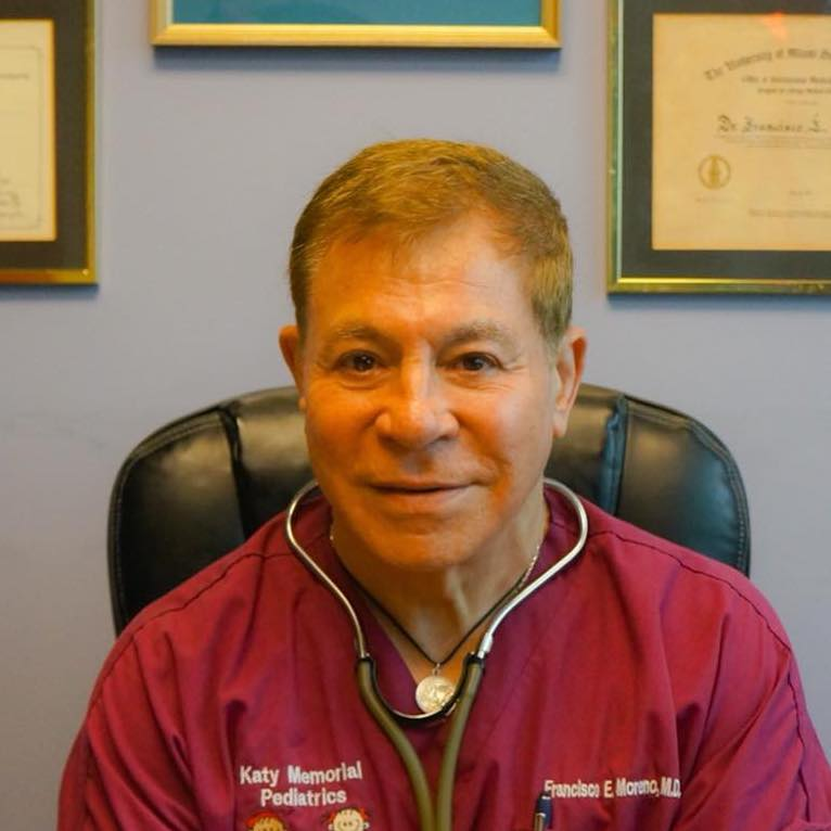 Dr  Francisco Moreno - Katy Memorial Pediatrics